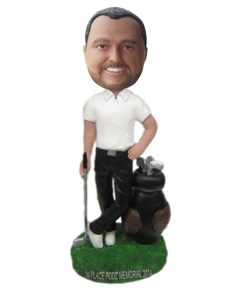 Make golf  bobble head S780