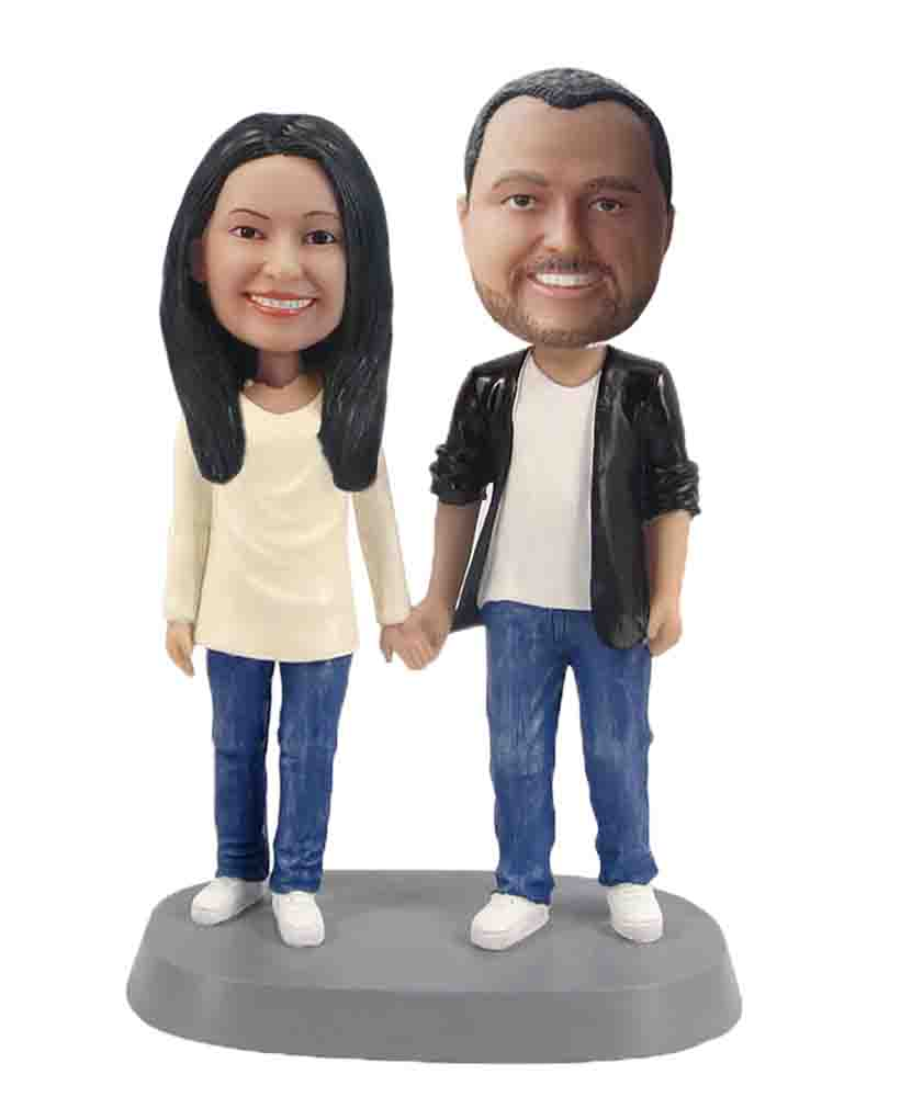 Custom Wedding Bobblehead W249