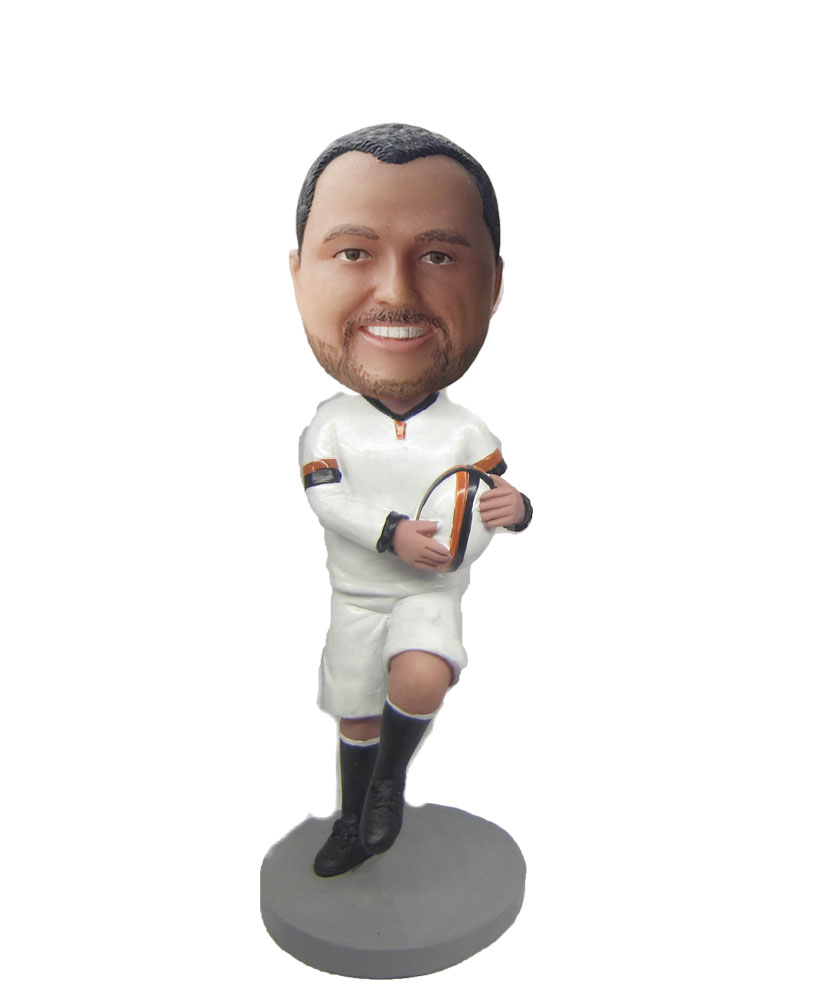 custom made rugby bobbleheads S680