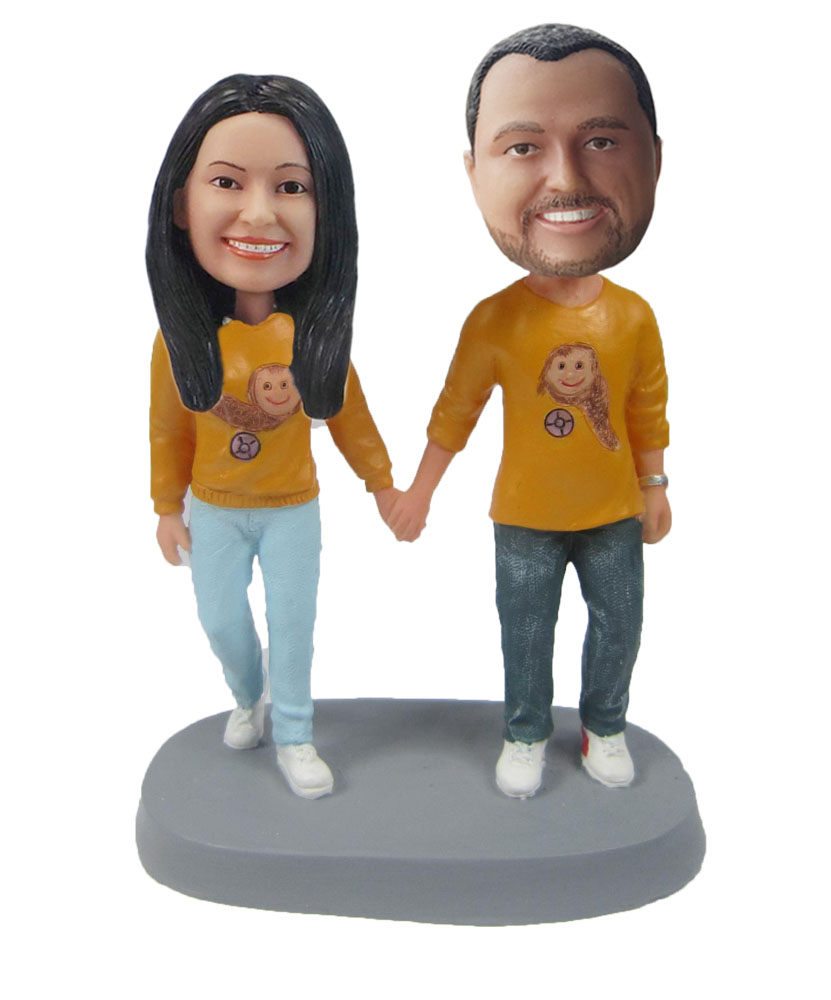Custom Wedding Bobblehead W262