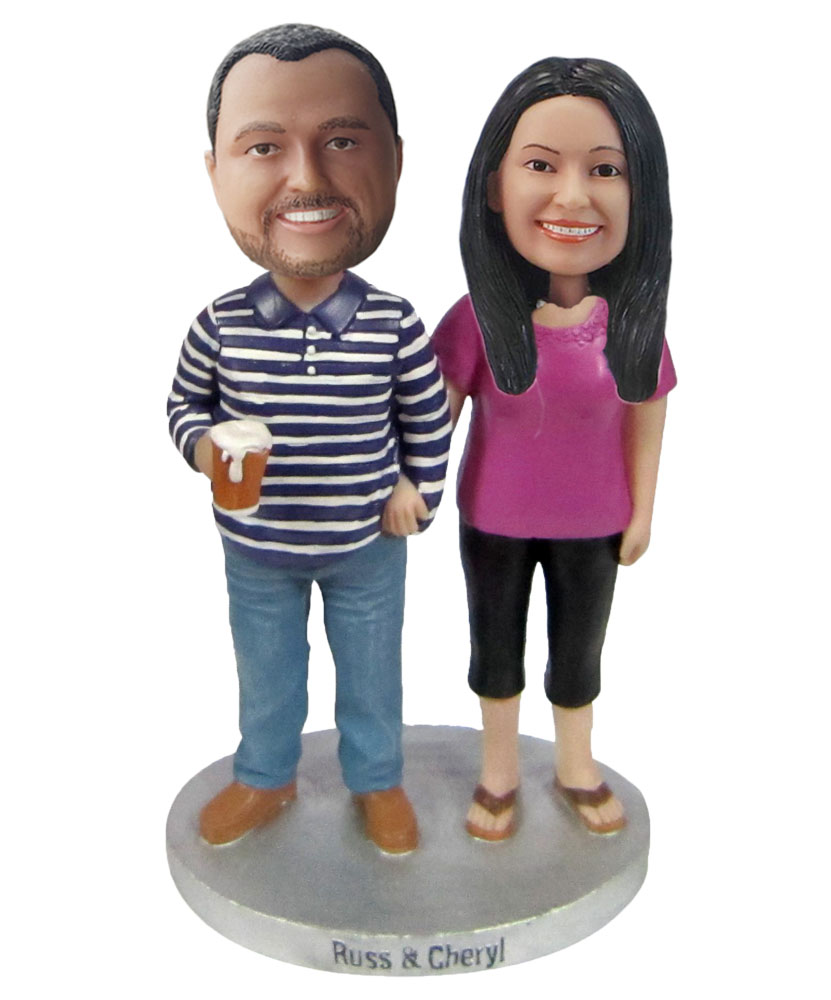 Custom Wedding Bobblehead W264