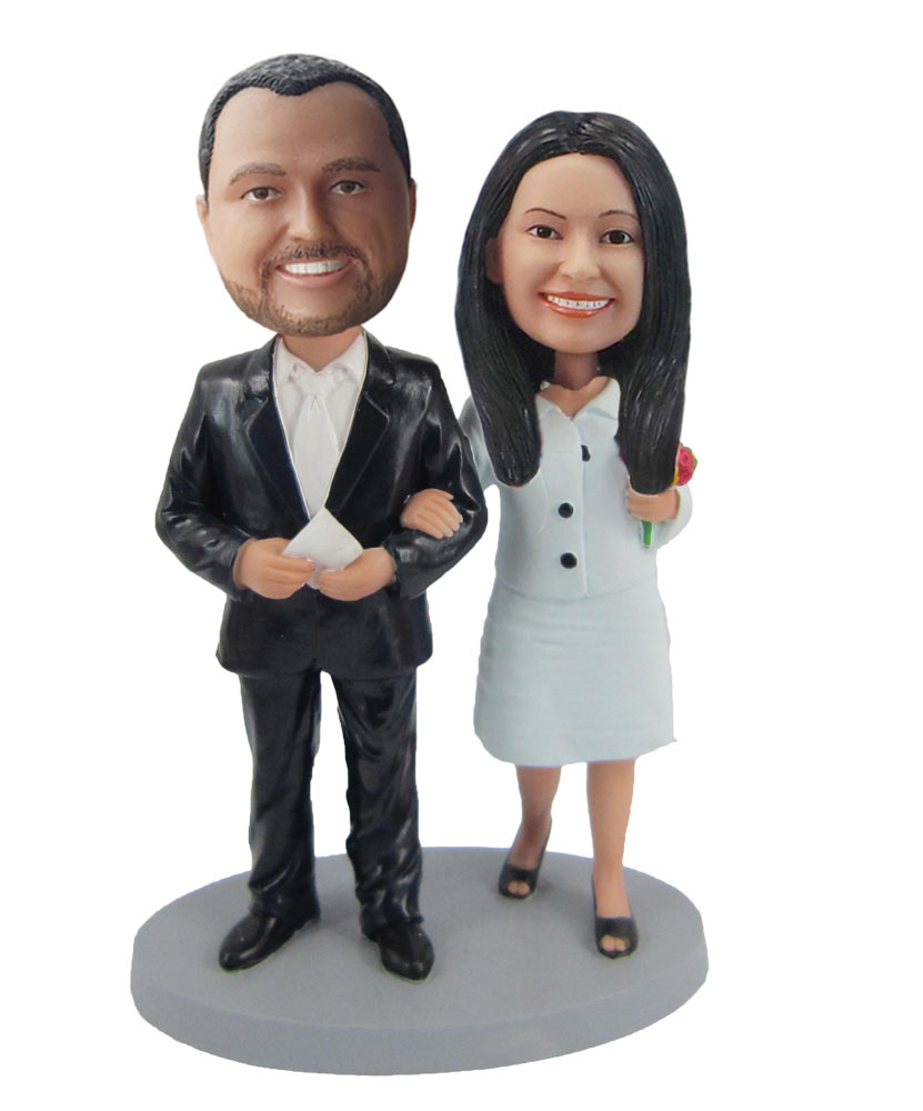 Custom Wedding Bobblehead W269