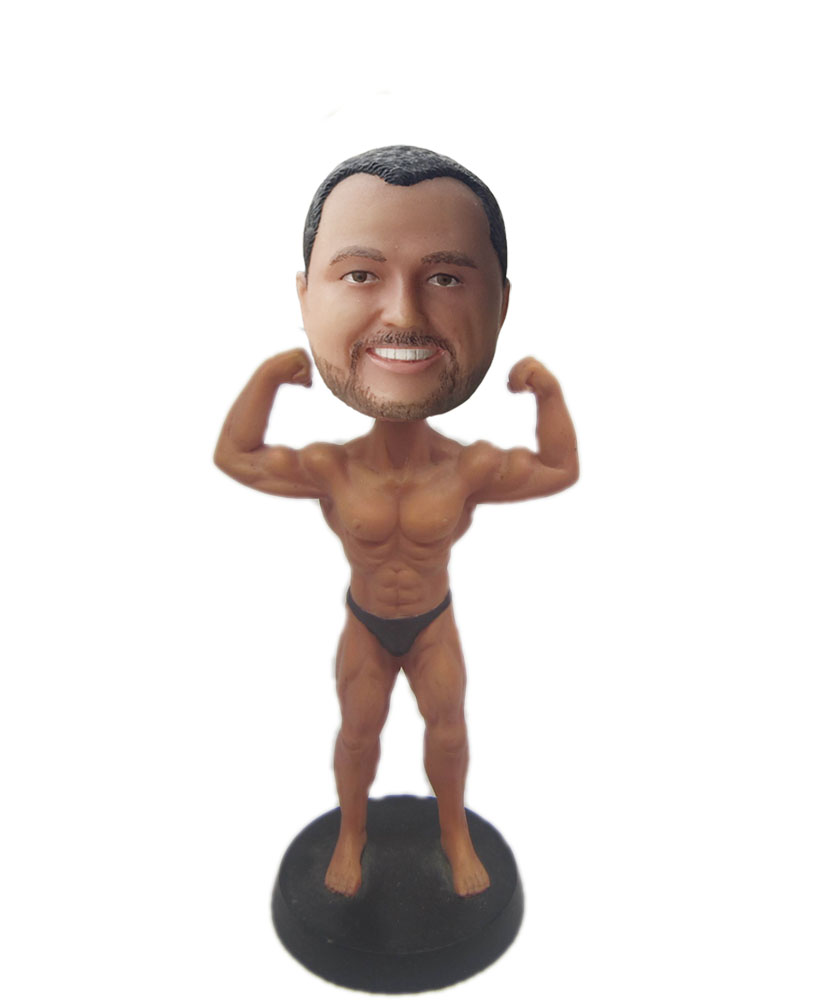 how are fitness bobbleheads made S629