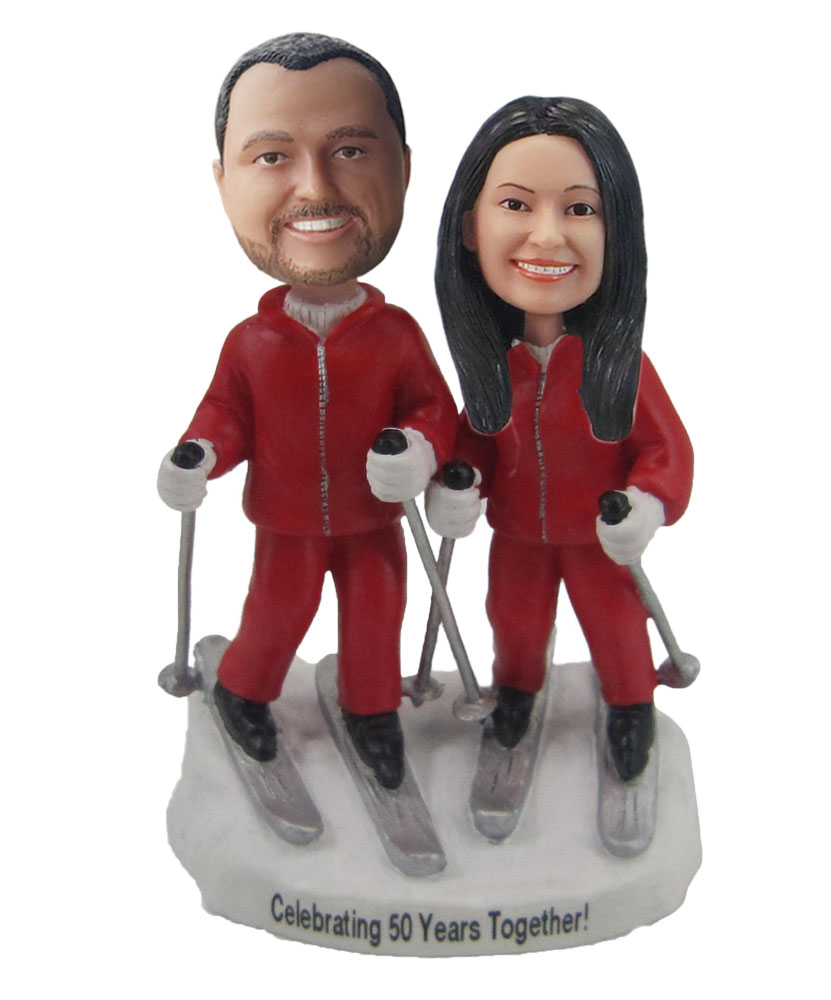 Custom Wedding Bobblehead W280