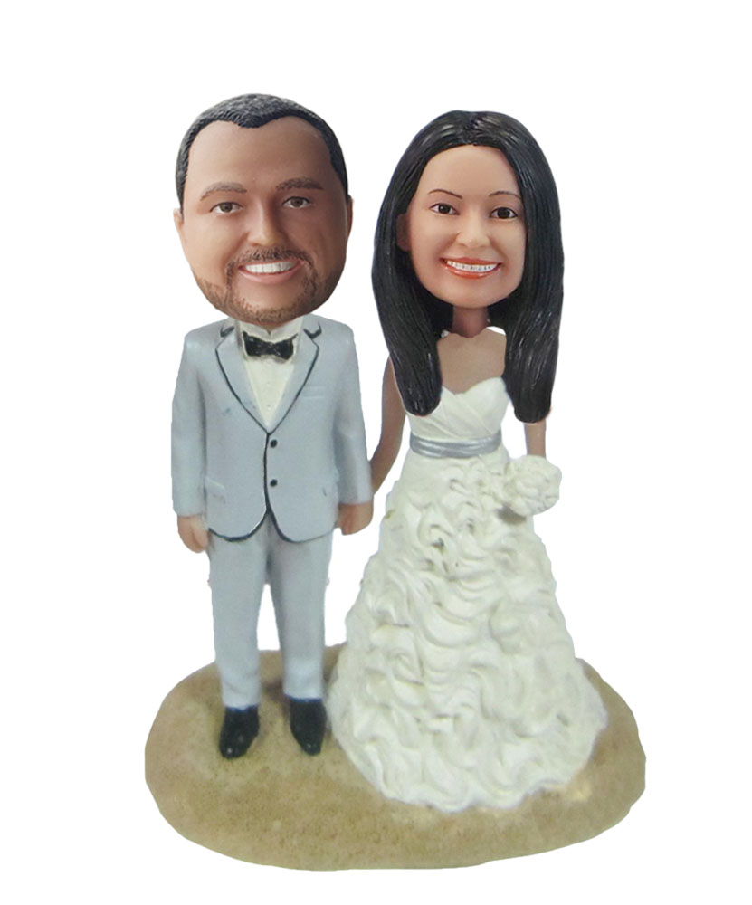 Custom Wedding Bobblehead W293