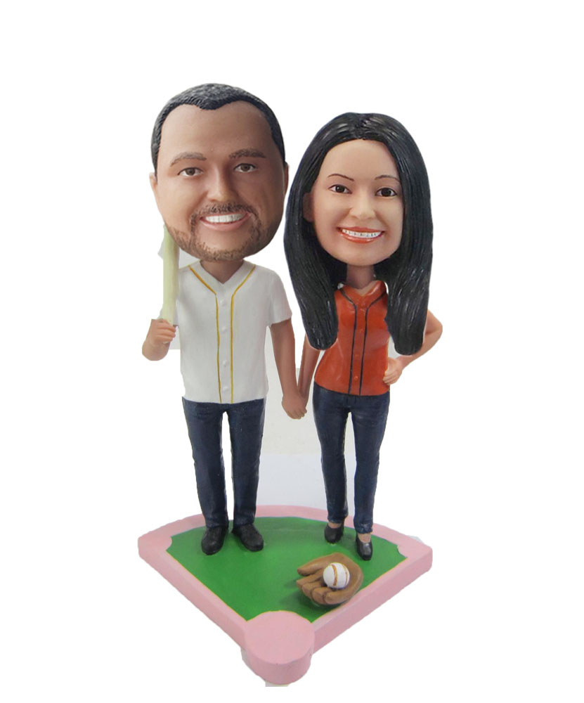 Custom Wedding Bobblehead W306