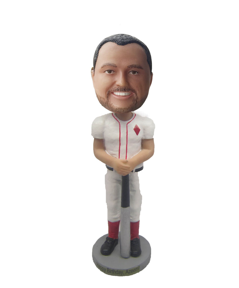 Make baseball bobble head S525