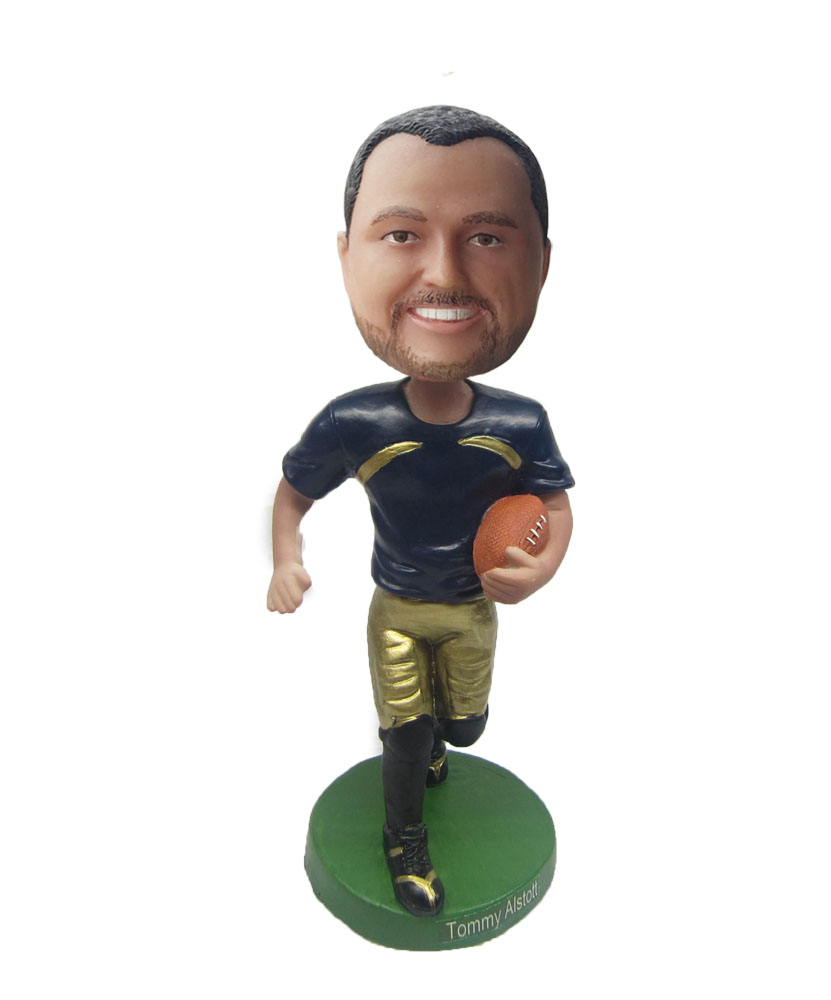 Rugby bobble head cartoons S468