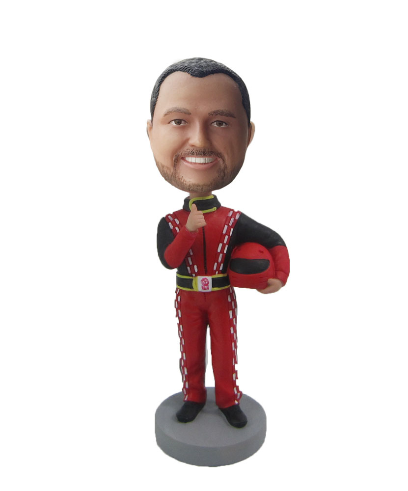 Racing drivers bobble head cartoons S453