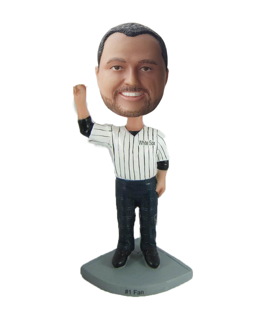 umpire bobble head cartoons S6