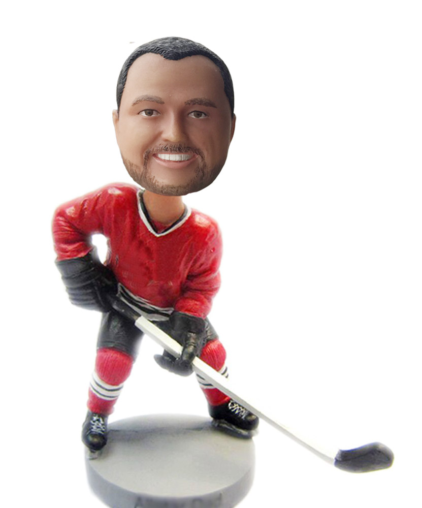 custom hockey bobbleheads S63