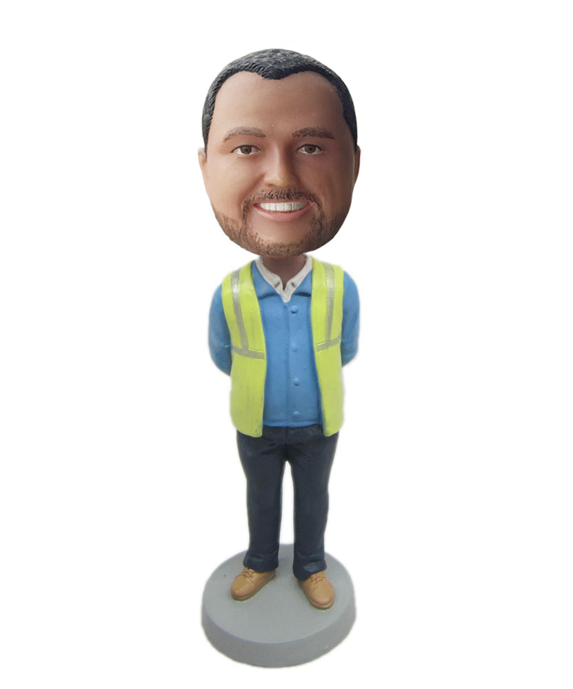 Personalized bobblehead M046