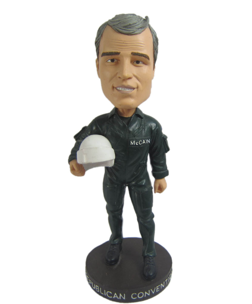 personalized with helmet bobblehead