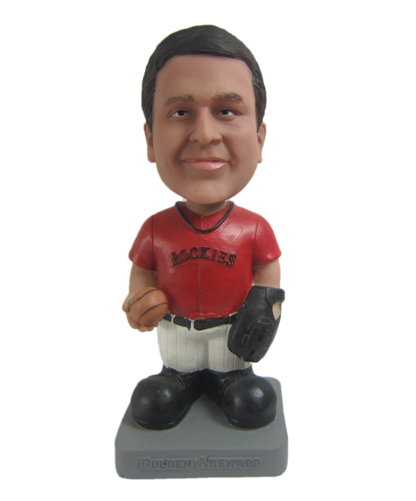 Custom ball bobblehead