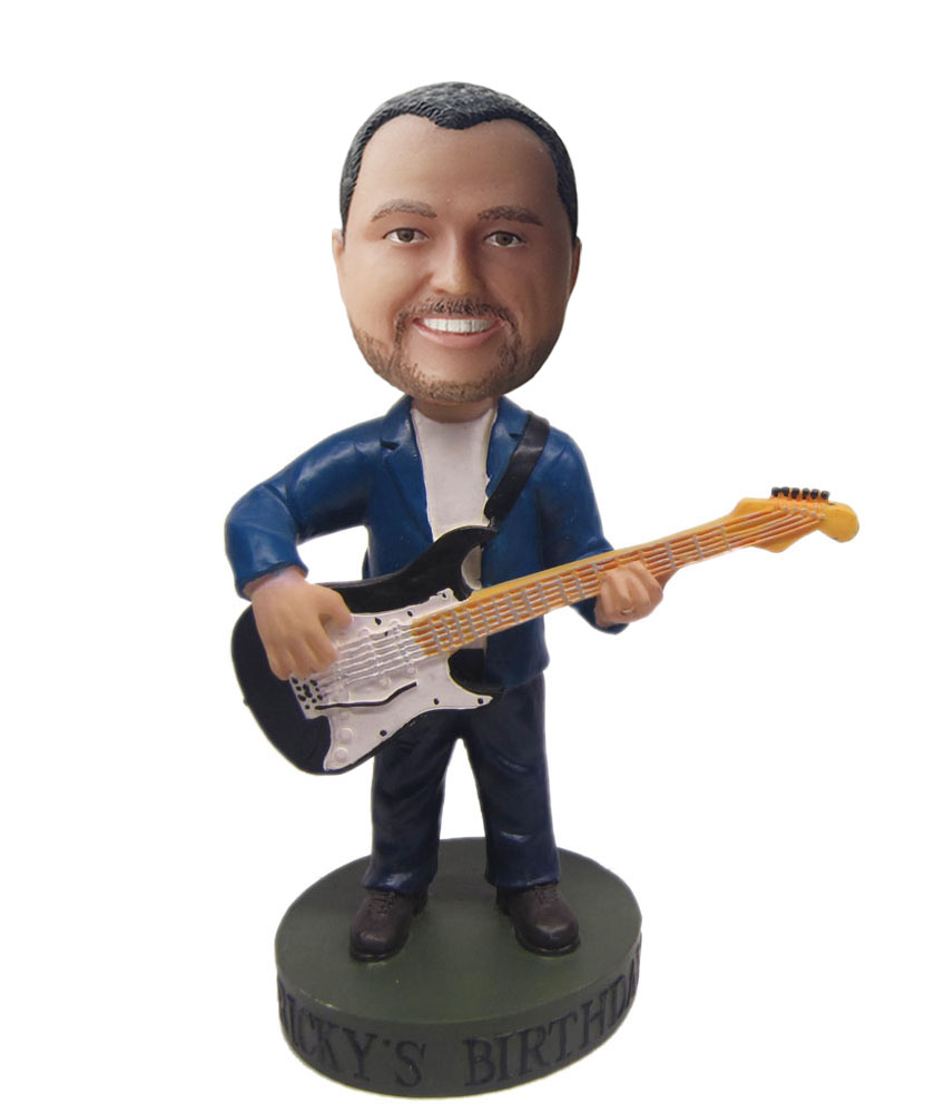 custom guitar bobblehead
