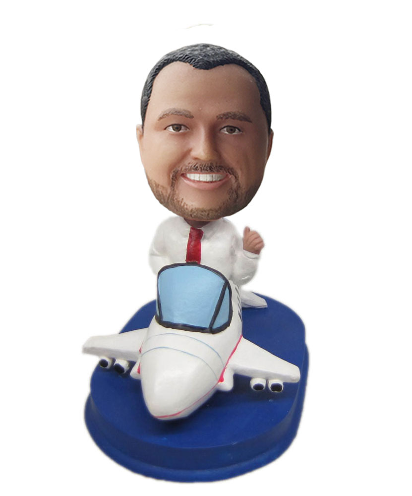 custom the model plane bobblehead doll's