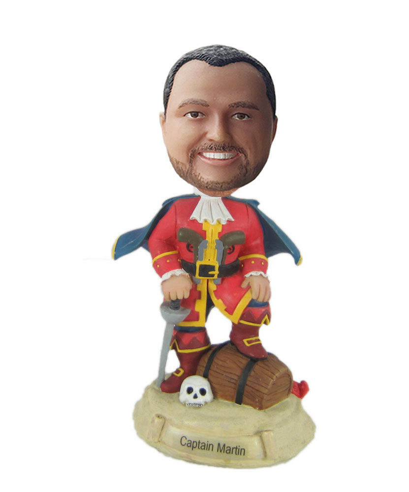 custom colorful clothes bobblehead