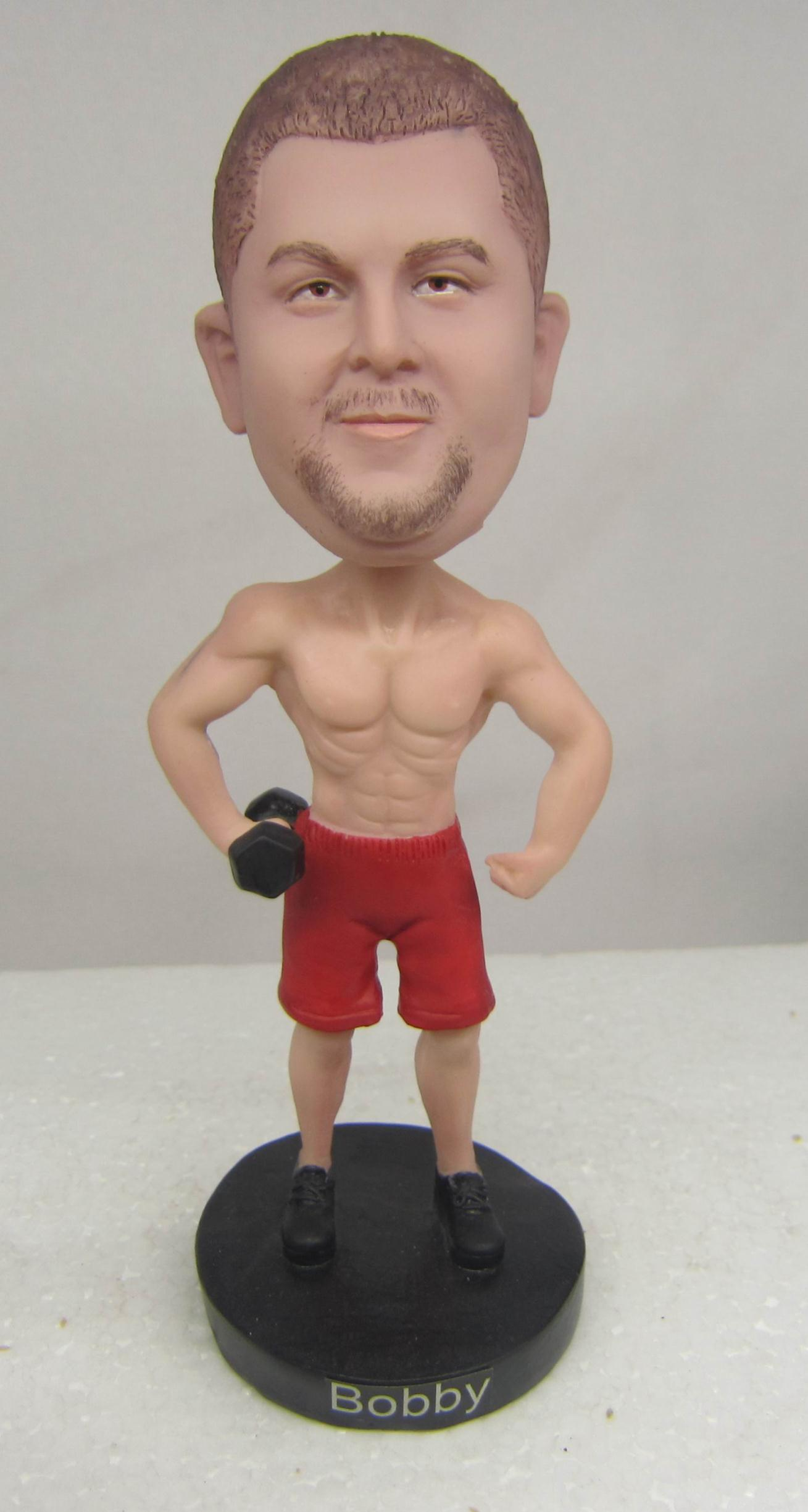 custom good figure bobblehead