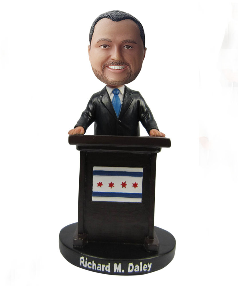 custom a lecturer bobblehead