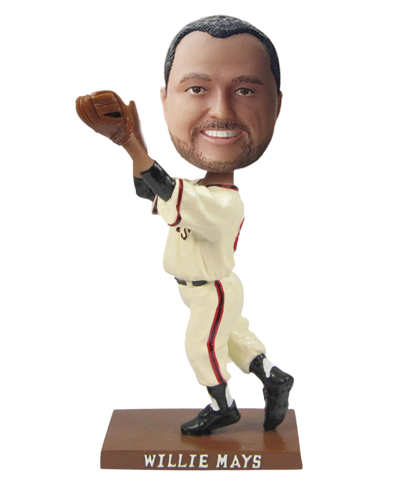 Baseball Pitcher Throwing Man bobblehead Doll S450