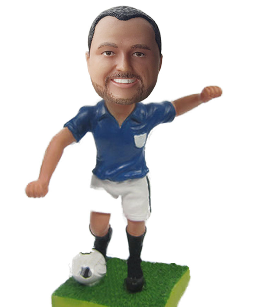 Personalized Football Bobble Head S517