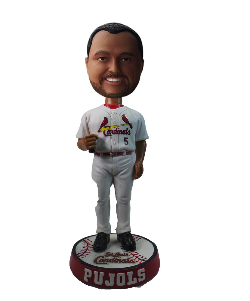 Baseball Player With Bat bobblehead Doll S585