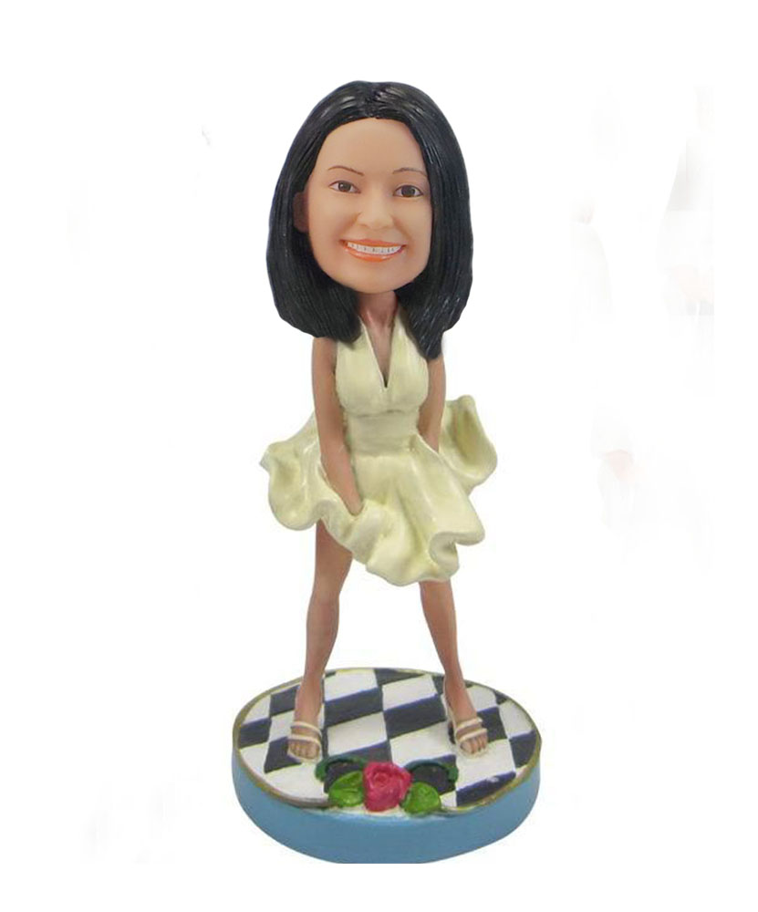 Marilyn Munro personalized Bobbleheads
