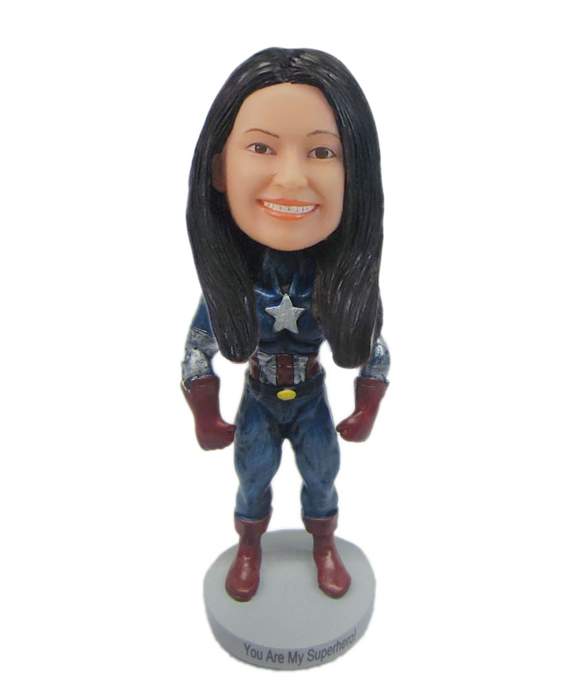 Female Iron Woman special bobbleheads