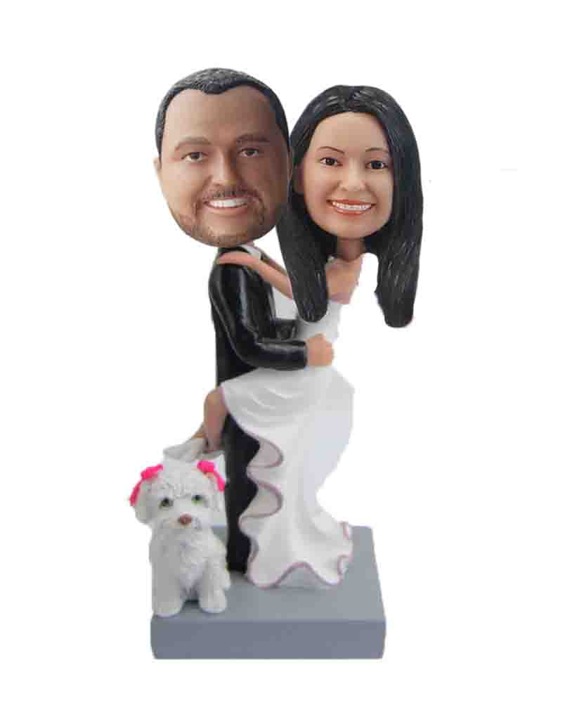 Create your own wedding bobbleheads W307