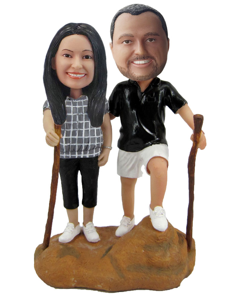 Custom Couple Bobblehead Doll w451
