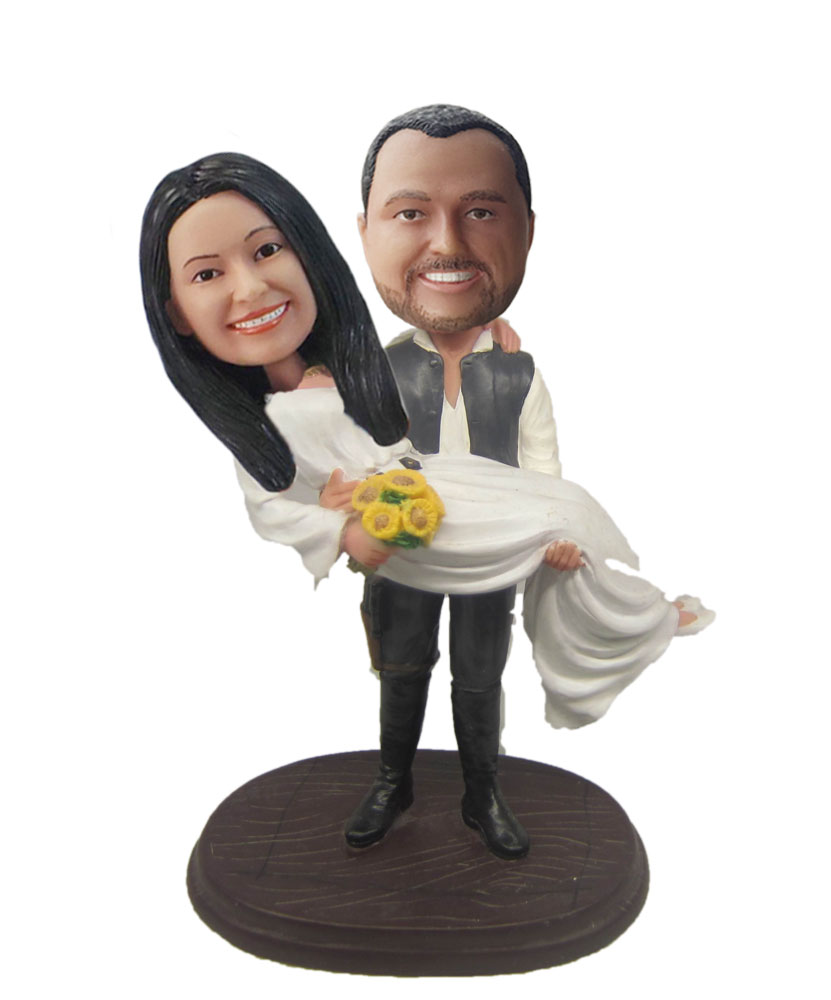 Wedding Bobbleheads Cake Toppers W463