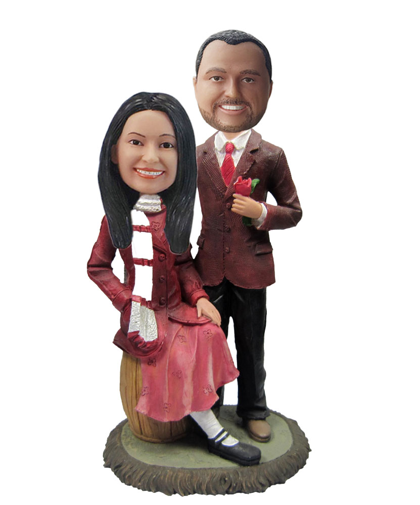 Personalized Uniform Wedding Bobbleheads W591