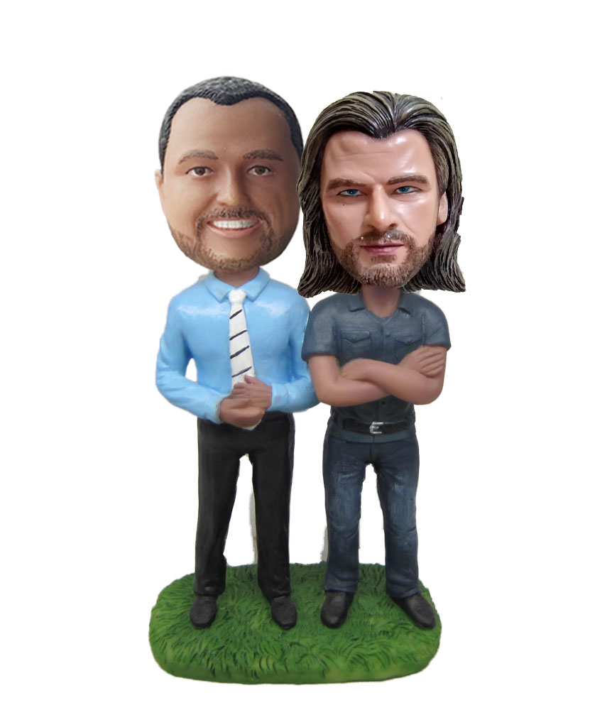 Same Sex Couple bobblehead Doll W670