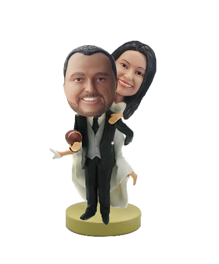 Custom Bobble Head Wedding Gift Ideas W655