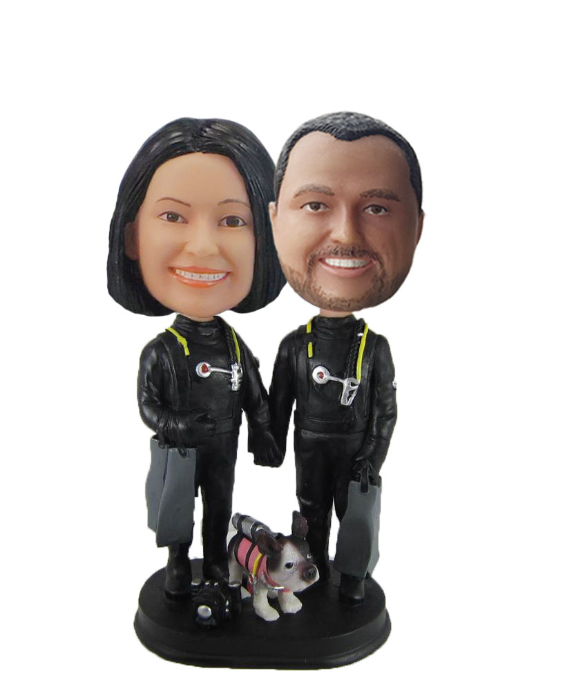 Custom Funny Wedding Bobbleheads W981