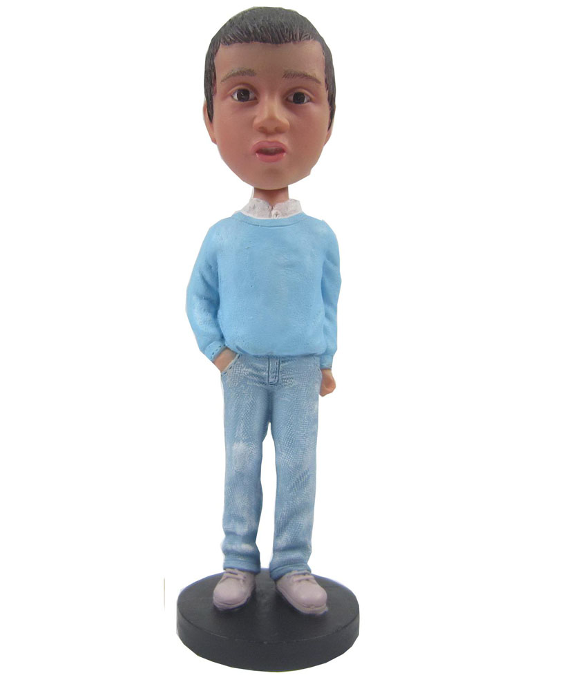 Custom kid bobbleheads 214