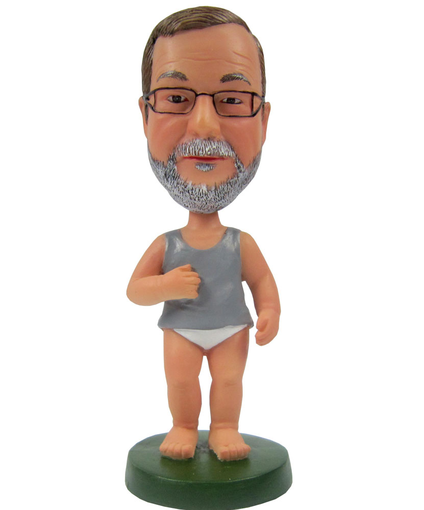Man Taking Off Top Funny Bobbleheads B245