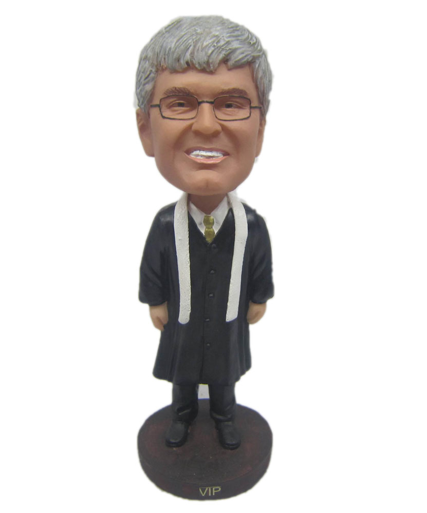 Graduation Bobbleheads Male with Black Suit B273