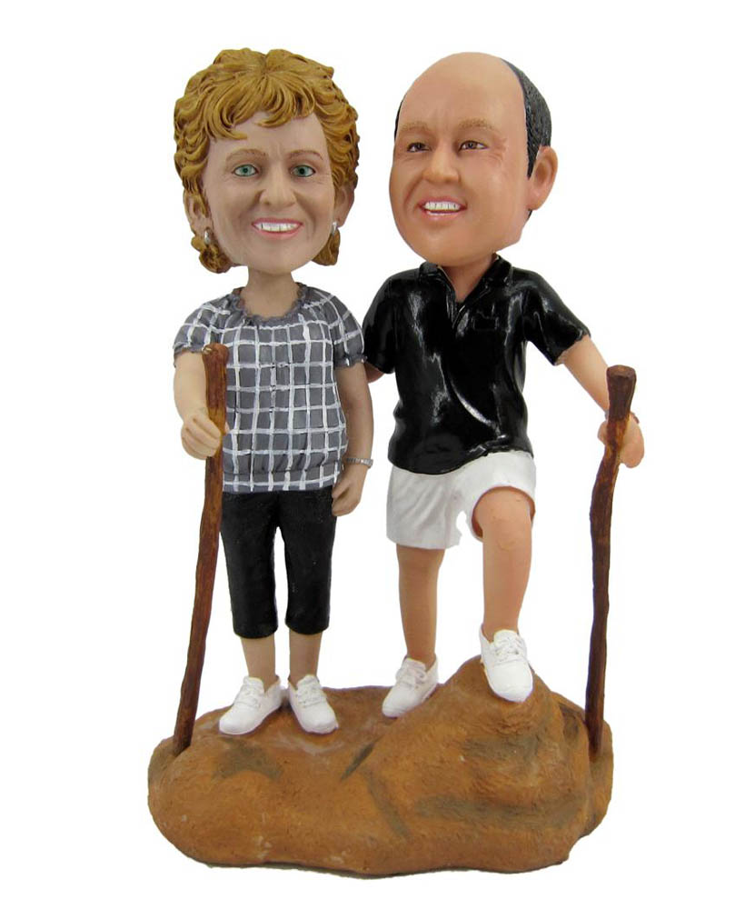 Climbing Couples Bobbleheads D001