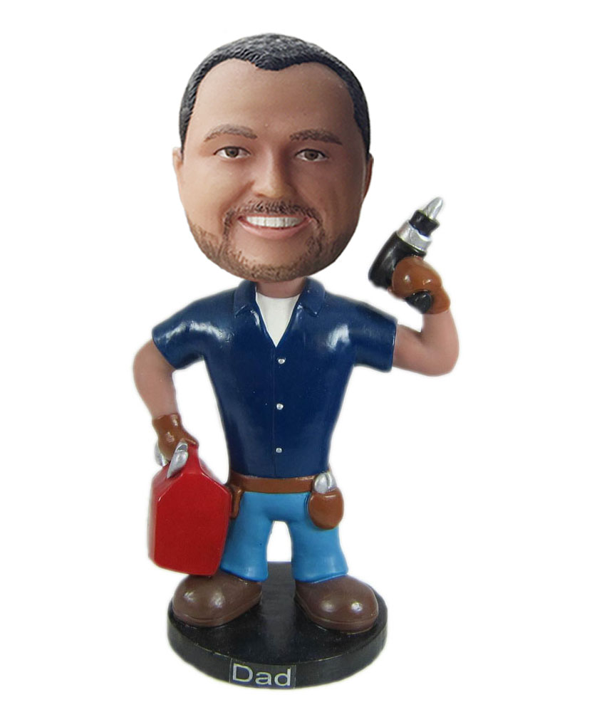 Customize dolls of maintenance worker