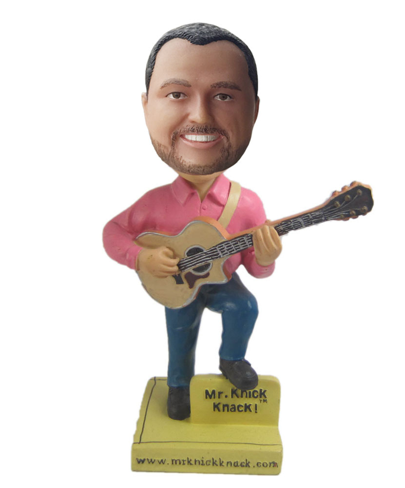 Make our own with guitar bobblehead