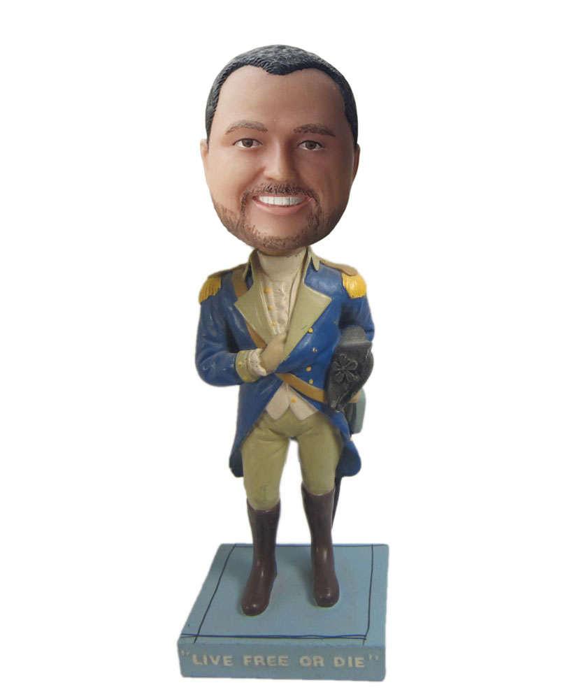 Personalized bobble head of general