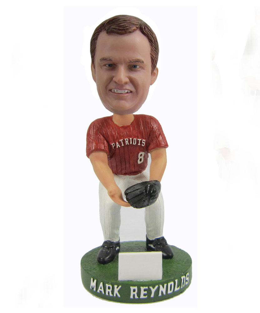 Baseball bobble head figurine S447