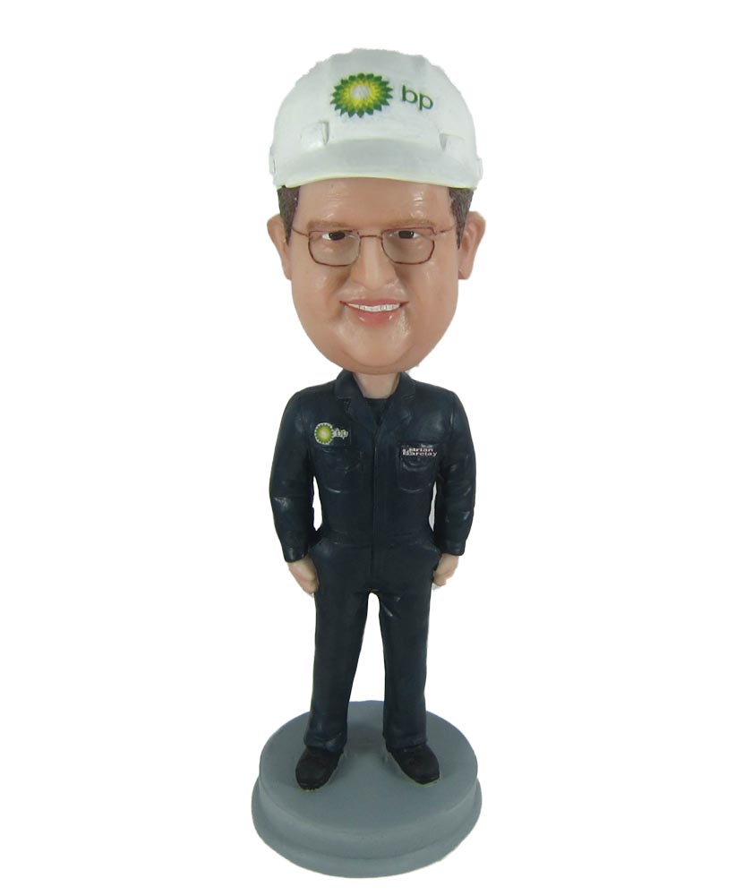 Natural Gas Petroleum Worker Bobbleheads