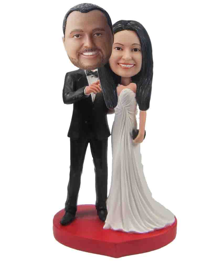 Custom Wedding Bobblehead W142