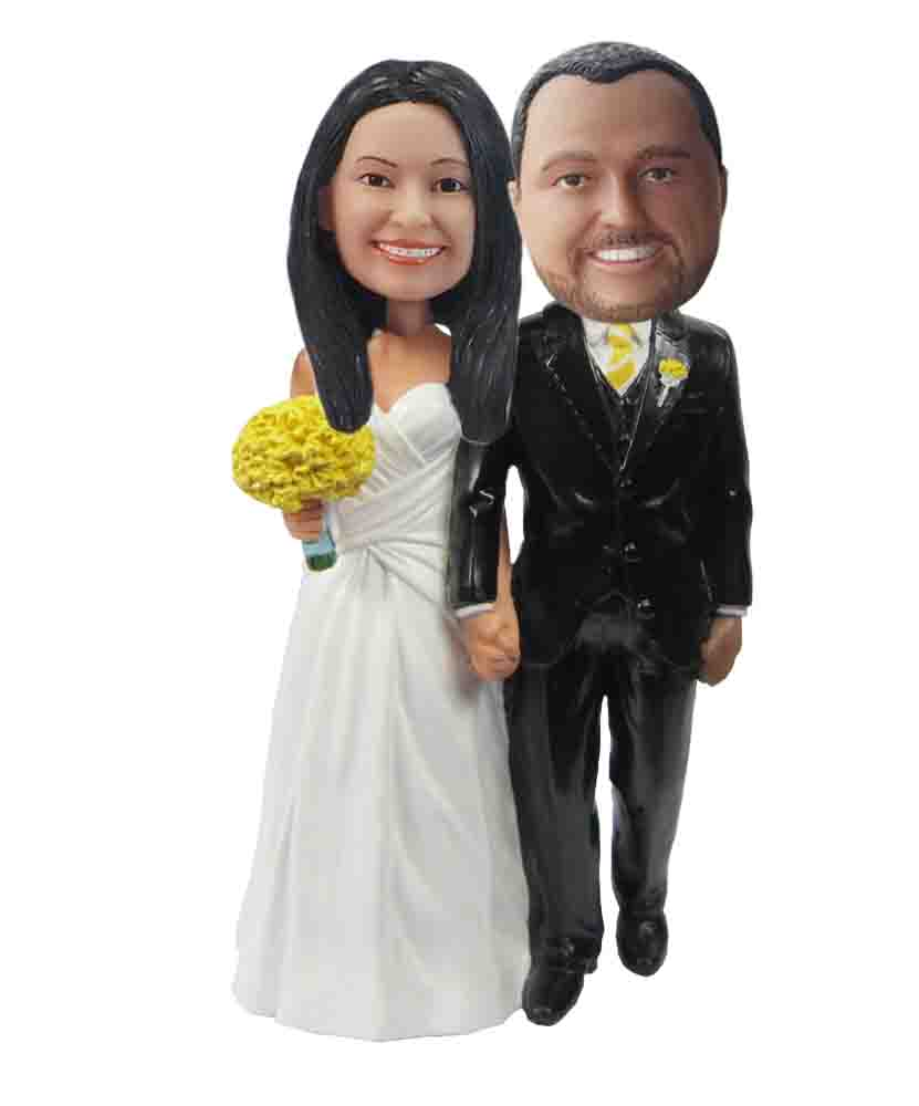 Custom Wedding Bobblehead W143