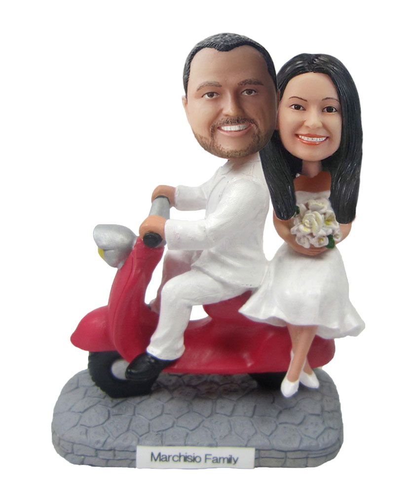 Custom Wedding Bobblehead W152
