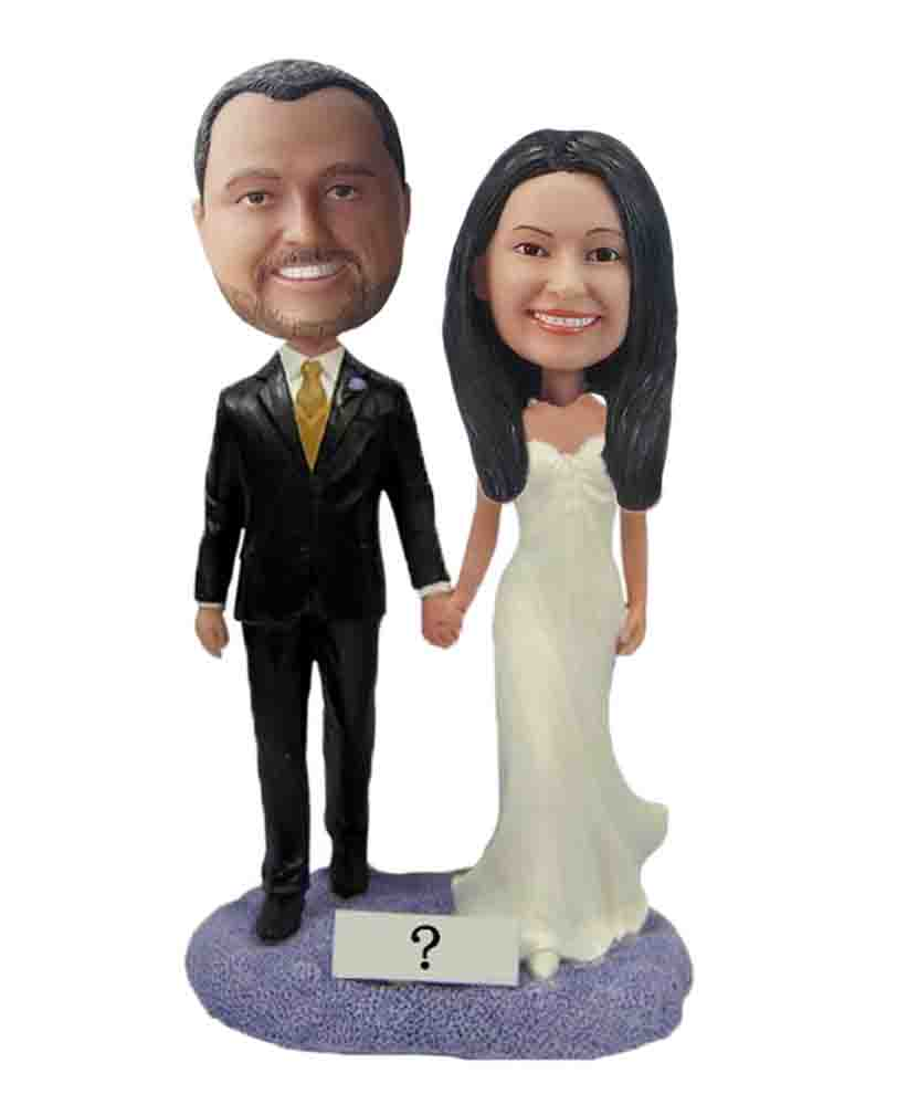 Custom Wedding Bobblehead W204
