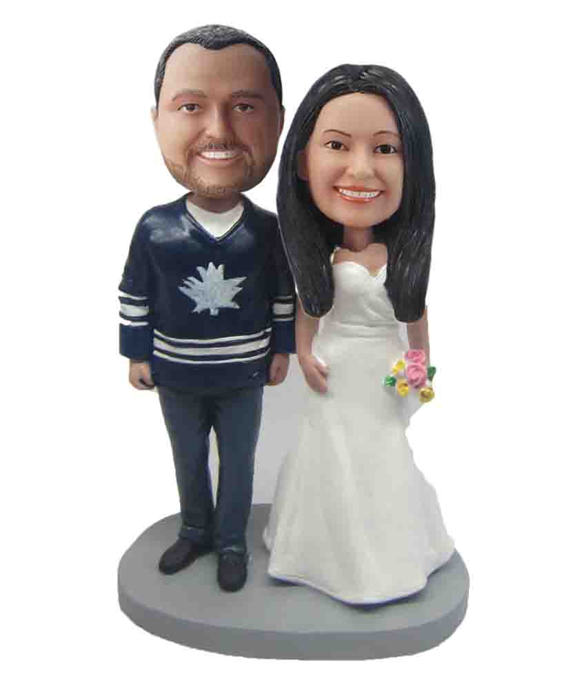 Custom Wedding Bobblehead W210