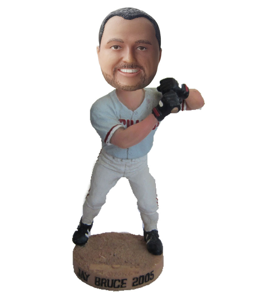 baseball bobble head cartoons S10